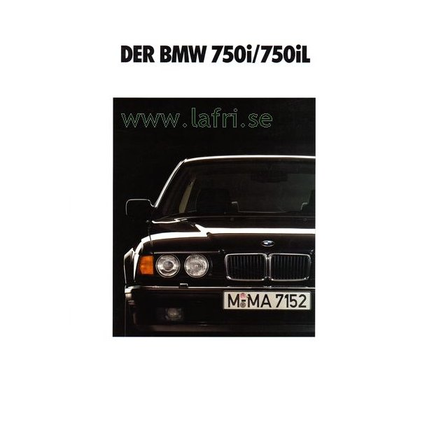 1991 BMW 7-serie V12