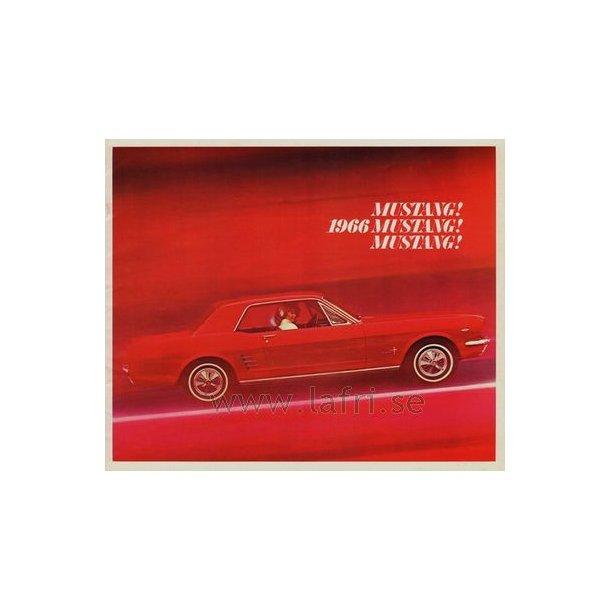 1966 Mustang Hardtop, Convertible & Fastback