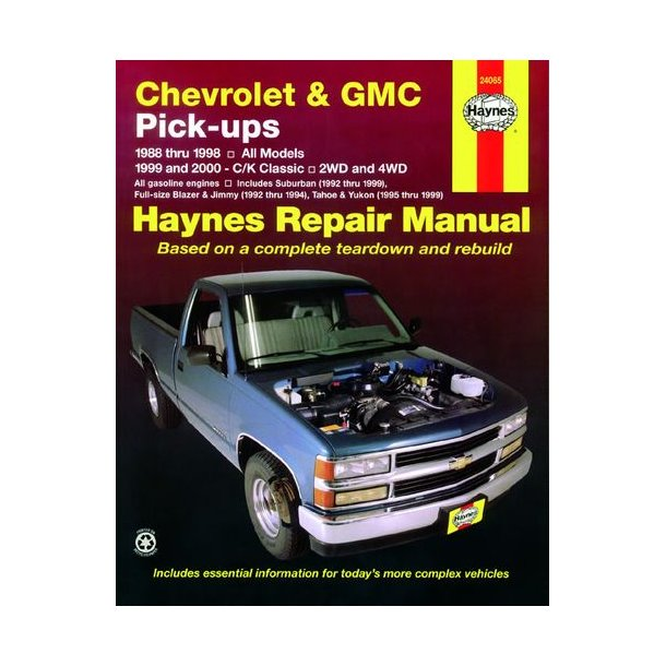 Chevrolet and GMC Pick-Ups 1988-2000 Industry Books letsbookmypg.com