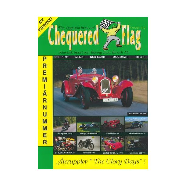 Chequered Flag Nr 1 - 1995