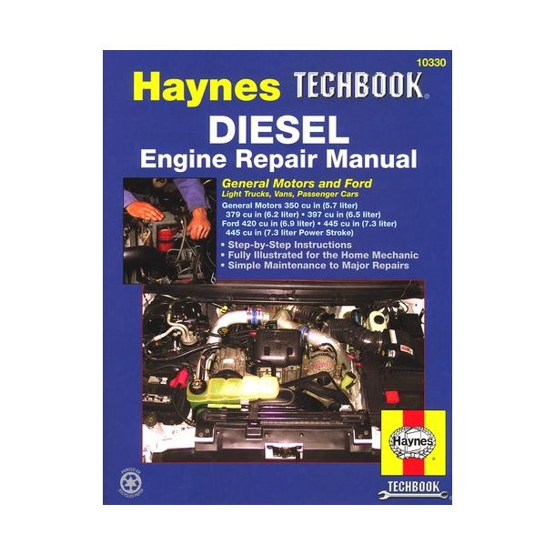 DIESEL ENGINE REPAIR MANUAL GM 6,2 & 6,5 LITER