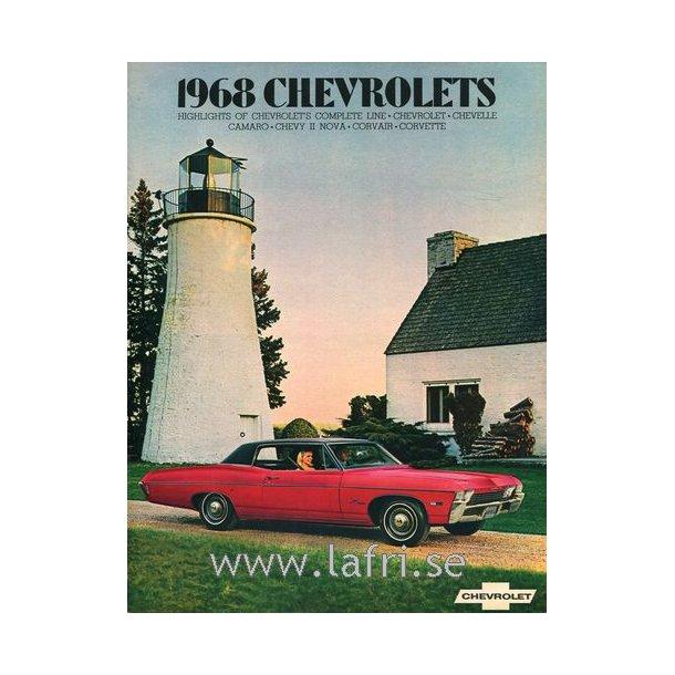 Chevrolet 1968 Hela Programmet
